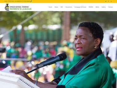 AFRICAN NATIONAL CONGRESS - OUR ESTEEMED CLIENT