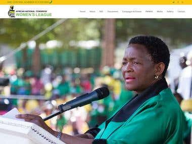 AFRICAN NATIONAL CONGRESS - OUR ESTEEMED CLIENT