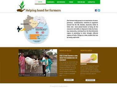 NGO WEBSITE - Farmershelp.org