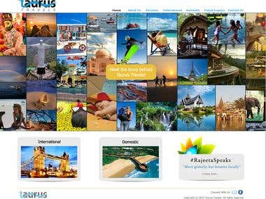 TRAVEL WEBSITE - Taurustravels.in