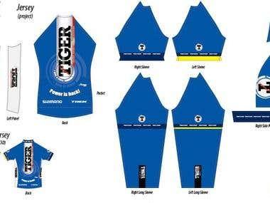 Sport clothes design
