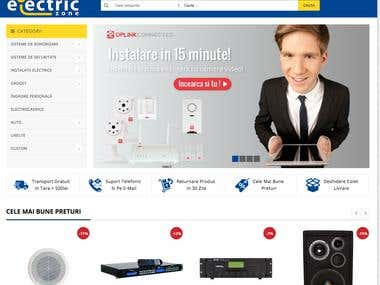 Electric Zone - Mangeto E-Commerce
