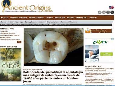 Translation of articles for ancient-origins.net