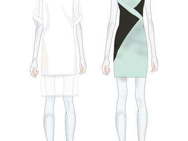 Fashion design for export house