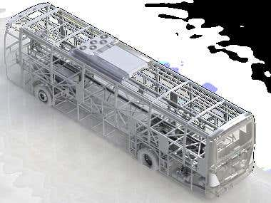 Bus frame