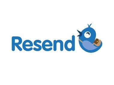 Resend logo