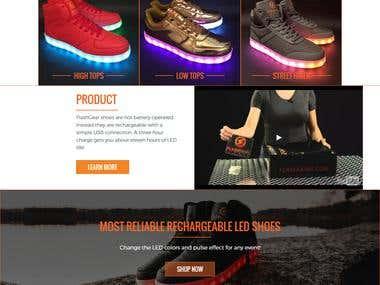 Shoes website.