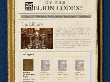 PHP/ MySQL project: Meljoncodex.com