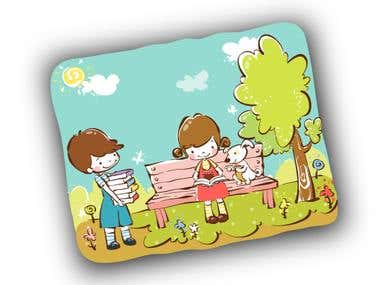 i can make Children book ( Illustrations )
