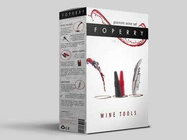 Wine tool Packaging Design