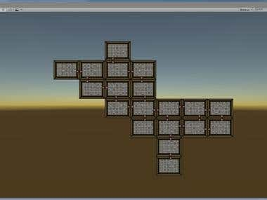 Roguelike/Tile based room generator