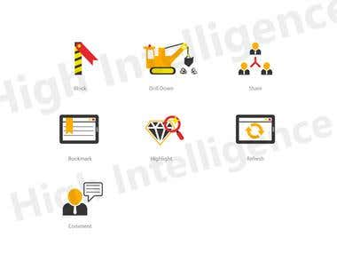 Web site icons