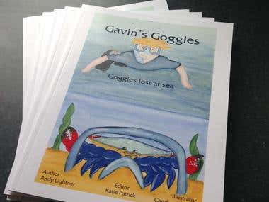 Gavin's Goggles - published children's book