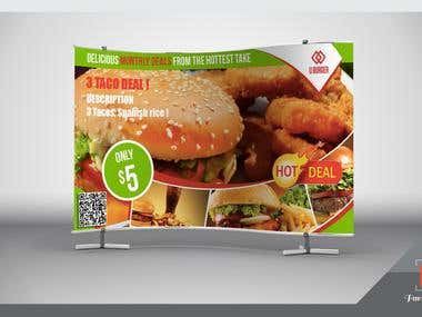 Banner Design for Restaurant