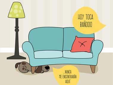 illustrations for razasdeperros.com