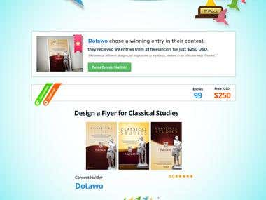 Design a Flyer for Classical Studies