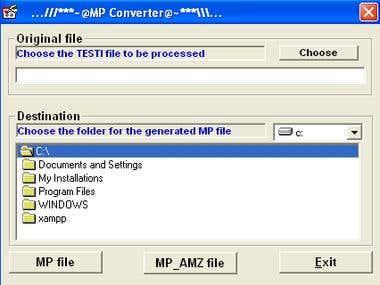 CSV File parser