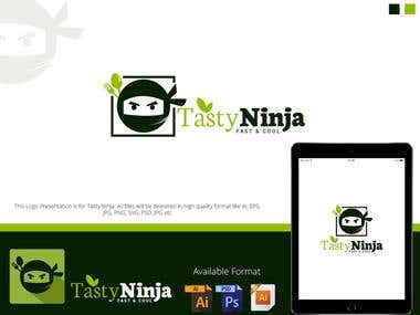 Logo For Tasty Ninja