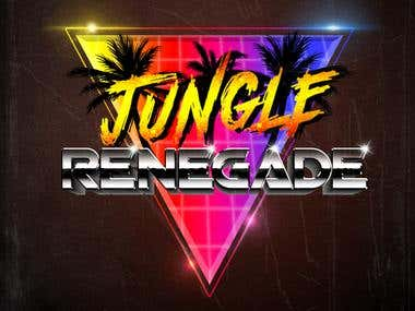 JungleRenegade - 80s Logo Design