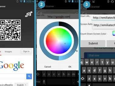 QR Code Scanner Android App