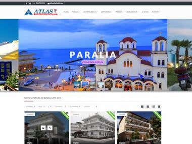 Travel agency website www.atlasttt.com