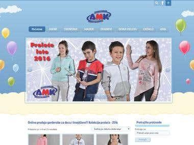 Kids sport webshop - www.amksport.rs
