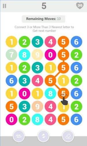 Find Next Number - Fun Game