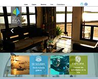 Website hostel - Posadas Eva