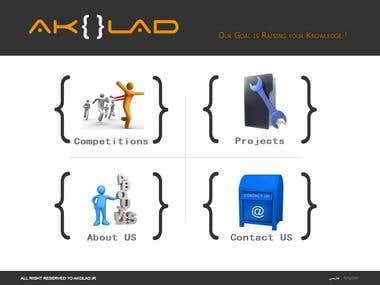 Akolad Web site Design
