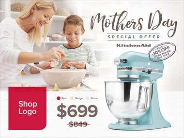 Ad for Mothers day