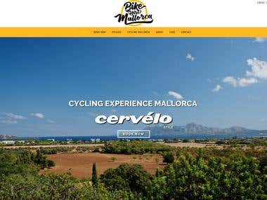 Bike Hire Website, Spain
