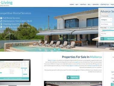 Real Estate website in the Balearic Islands