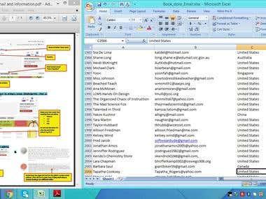 Email list developed from  teacherspayteachers.com