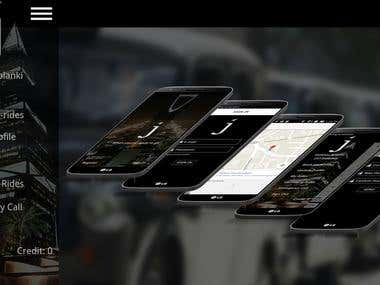 Jhaz(Taxi Booking App)
