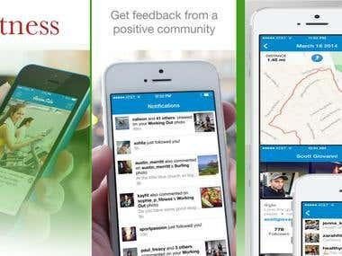 Fitness community,Training App