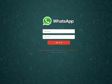 Whatsapp integration with php