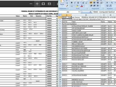 PDF to Excel With 100% accuracy