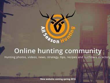 Hunting Website