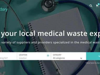 Waste Directory Website
