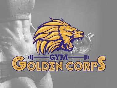 Gym Golden Corps Branding