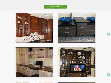 Wordpress website with custom theme and plugins