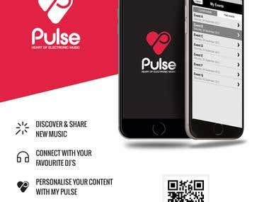 Pulse - iOS App for Event Booking