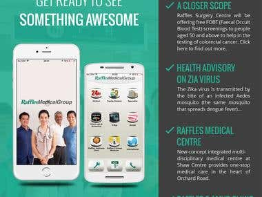 Raffles Medical Group - iOS & Android App