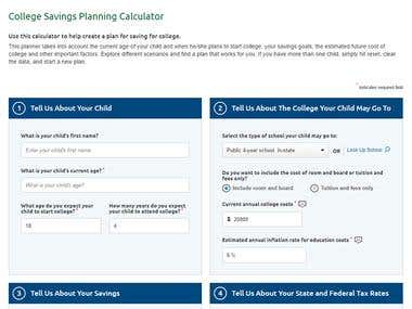TIAA College Tuition Calculator