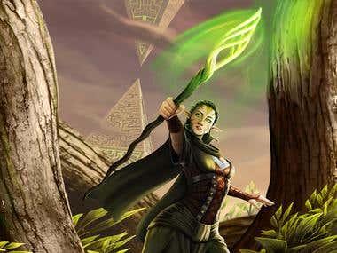 elven sorceress