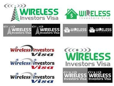 Wireless Investors Logo Design