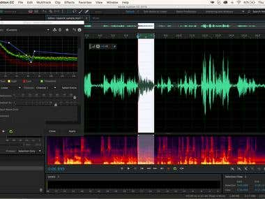 Audio editing and restoriation