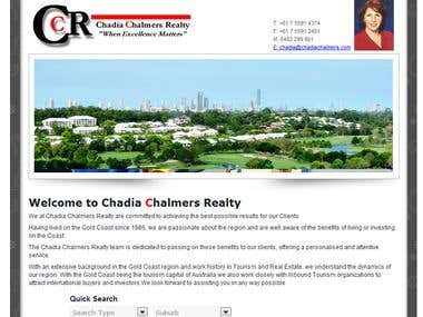 Chadia Chalmers Facebook Fan Page