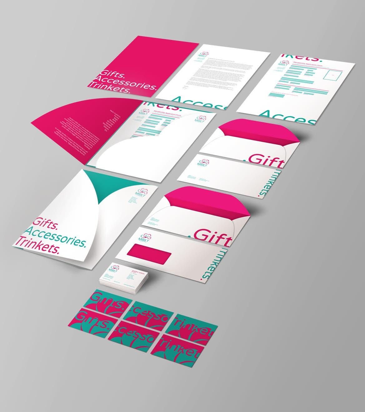 Gift Shop Identity Rebranding