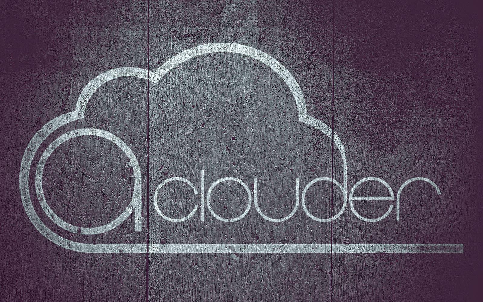 Aclouder Logo